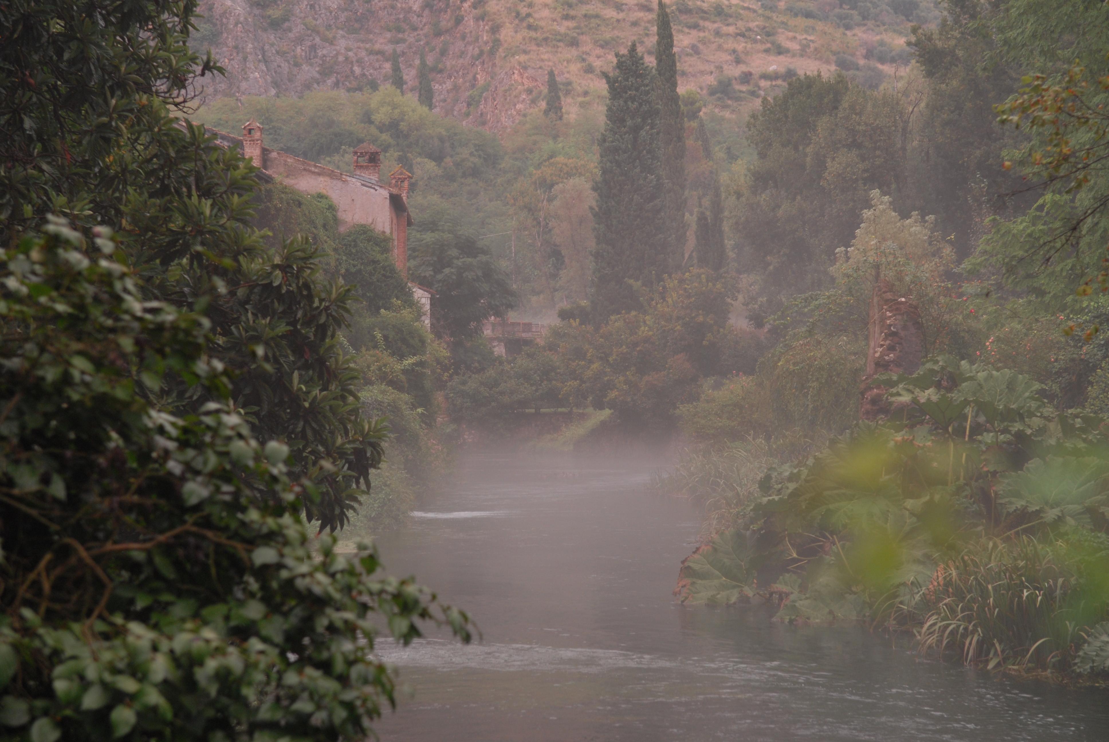 River Ninfa, Ninfa Gardens, Italy