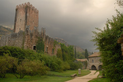 Caetani Castle, Ninfa Gardens, Italy
