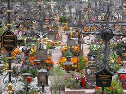 cemetery - Castelrotto, Italy