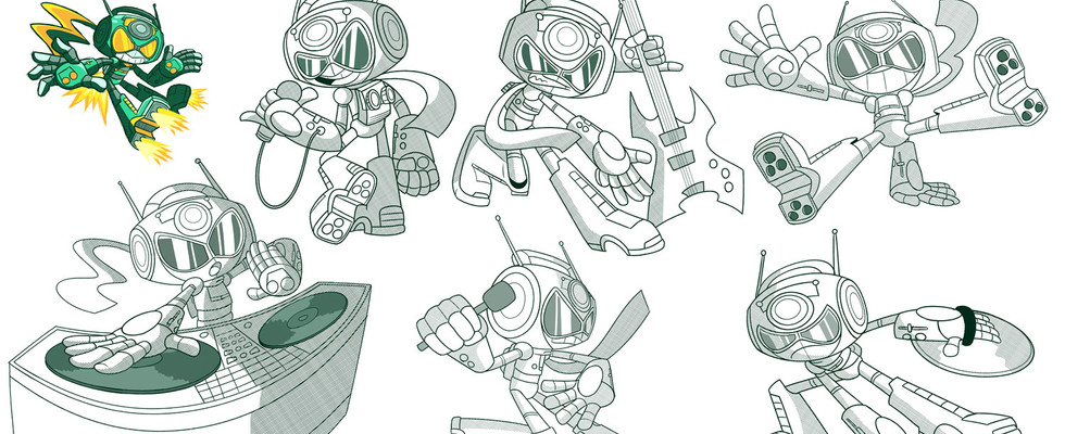 """""""Boombox"""" Character Poses"""