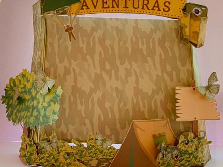 """Porta Retrato """"Aventura"""""""