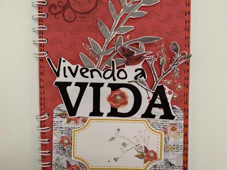 Caderneta decorada