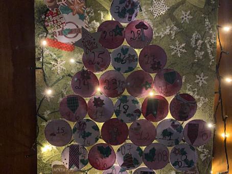 Calendário dezembro                            (Feliz Natal e Ano Novo)