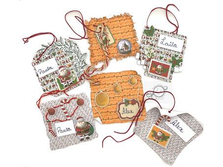 Tags para embalagens de presente