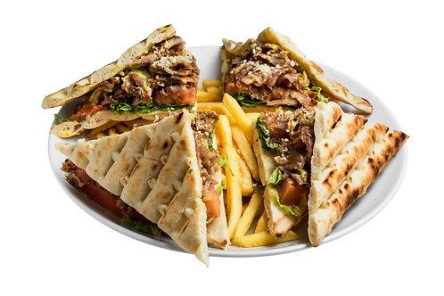 Club sandwich ( Gyros)