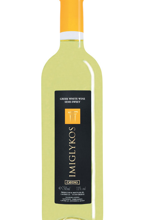 Zoete witte wijn Imiglykos Cavino