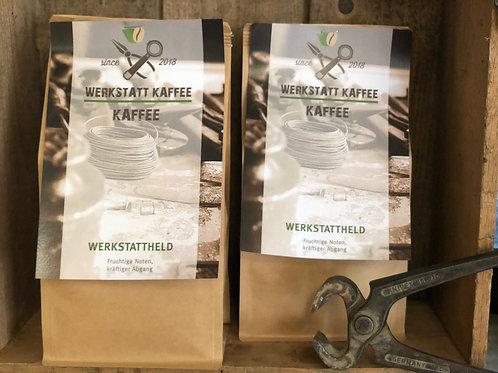 Werkstattheld Kaffee