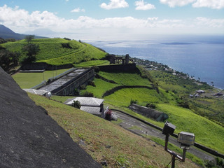 "St. Kitts - A Vista from the ""Old Fort"""