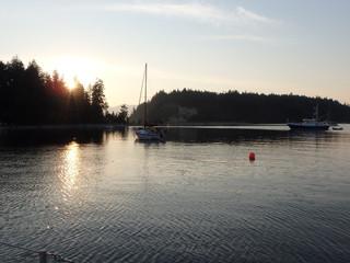 The Debut of 2015 Sailing Season in BC
