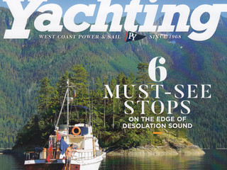 Pick up the September issue of Pacific Yachting - Our Feature Article on Night Sailing