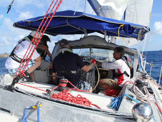 ONLY 2 SPOTS LEFT on Leg 4 Sail Canada Advanced Cruising Course