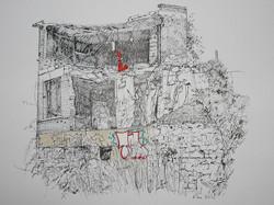dessin ruines meudon 2 s