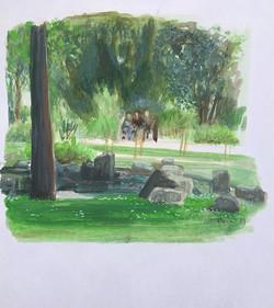 jardin japonais a Holland Park-s