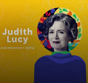 """Taking comedian Judith Lucy on a guided walk and having a good chat about being empowered by climate actions and nature mindfulness. on her Podcast.""""Tree, can I eat your leaves?""""Overwhelmed & Dying - ABC Radio"""