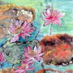 Lotus eco-art