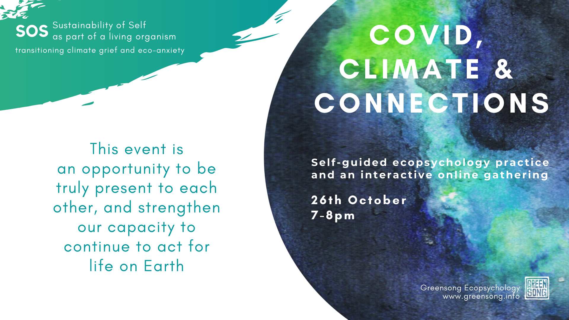 Covid, Climate and Connections