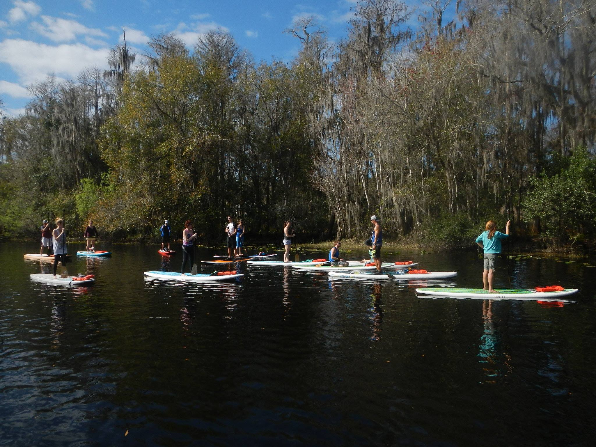 Group tours to Paddle Board in Kissimmee near Orlando Attractions