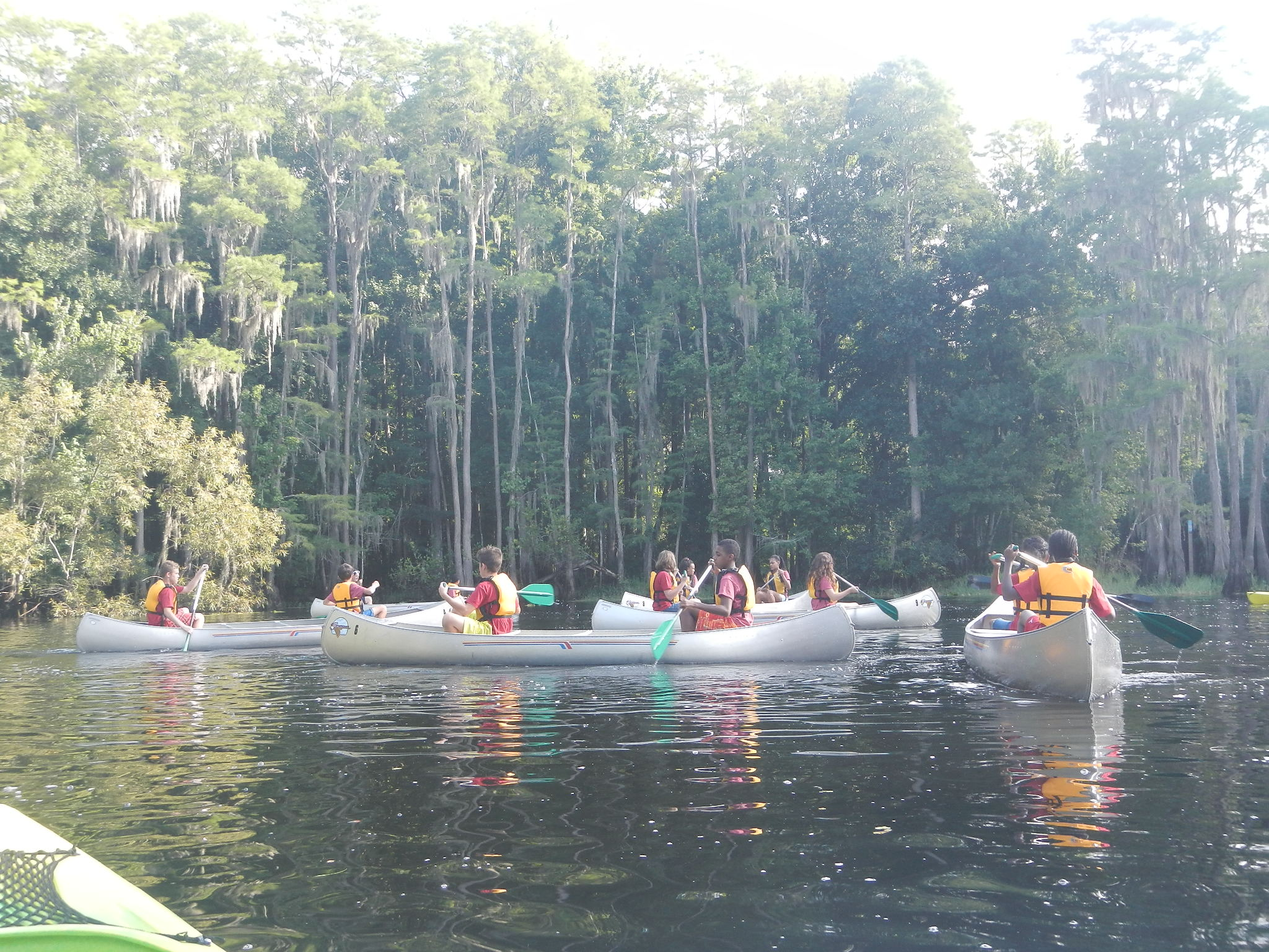 Group Canoeing Trips for Youth