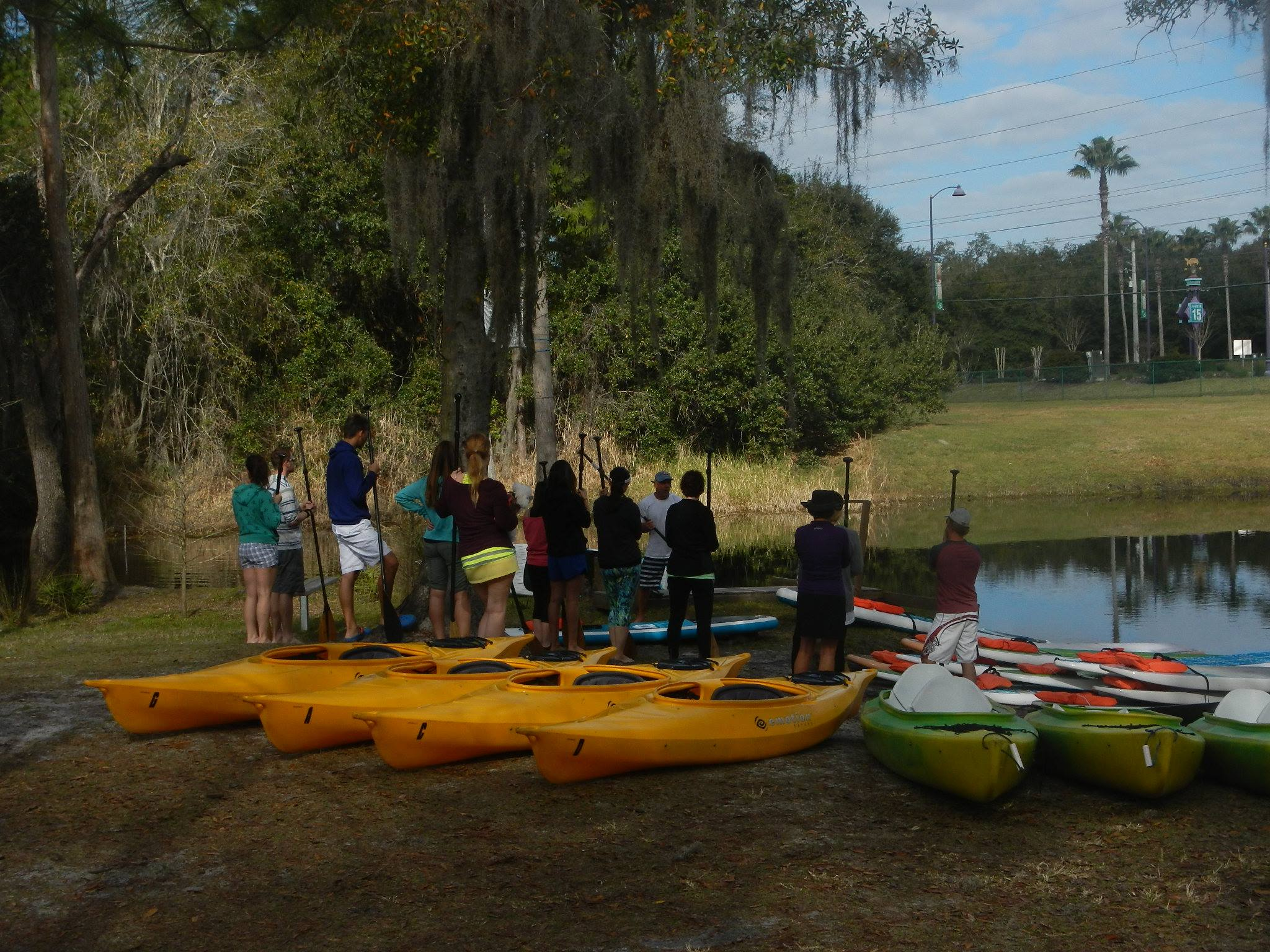 Learn to Kayak with your Group or Youth club in Orlando, Kissimmee