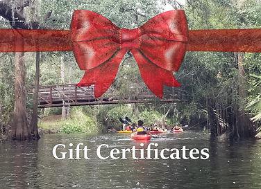 Kayaking Gift Certificate Orlando Kissim