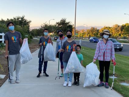 Westridge Village Cleanup