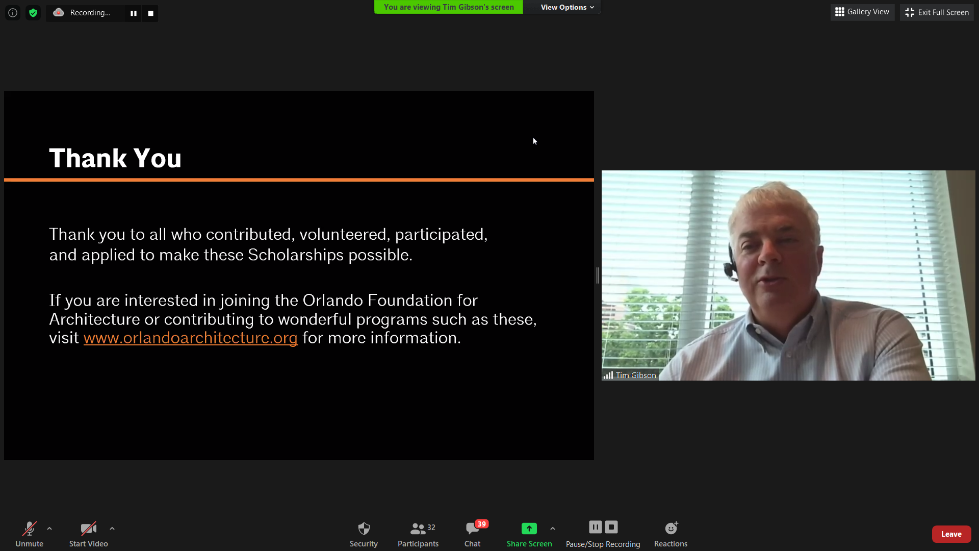 2020 Scholarship Awards Presentation 10