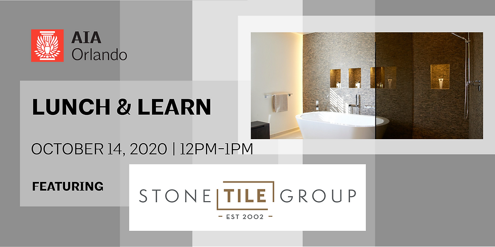 Lunch & Learn featuring Stone Tile Group