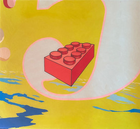 HYPOlite Lego Block with #5