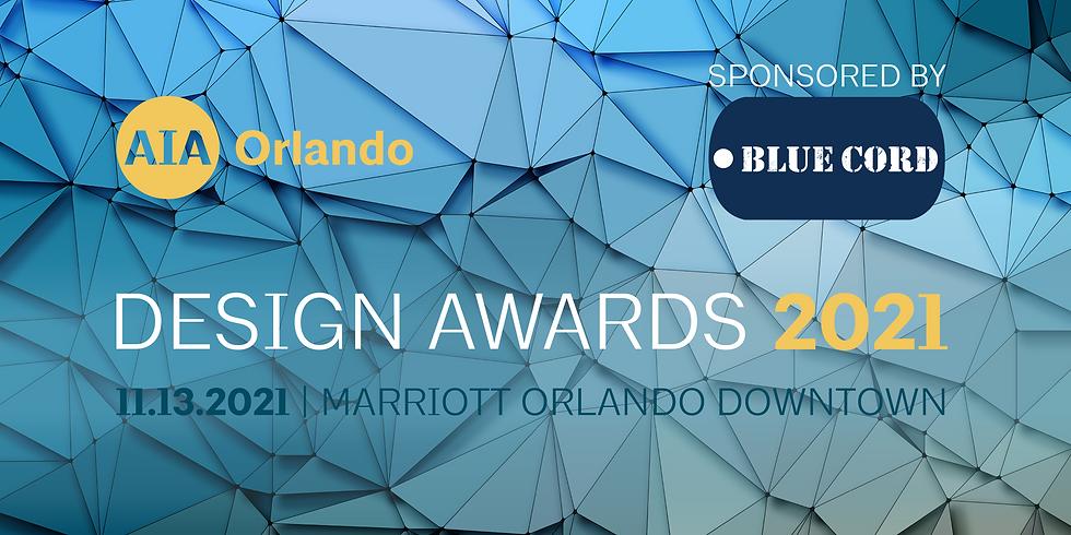 Design Awards Gala (In-Person) 2021