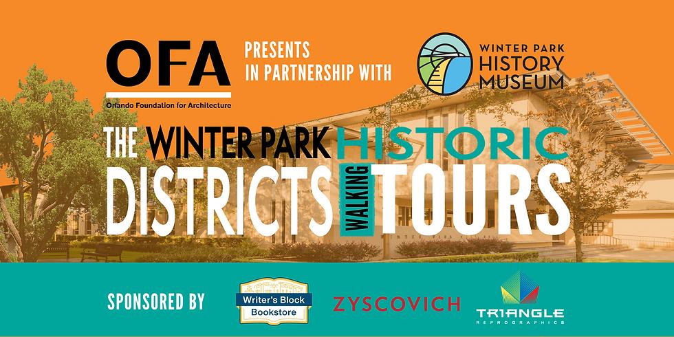 Winter Park Historic Districts Walking Tour