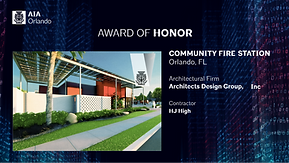 24 Honor award Community Fire Station.pn