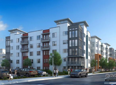 New Apartments Rise beside Maitland Sunrail Station