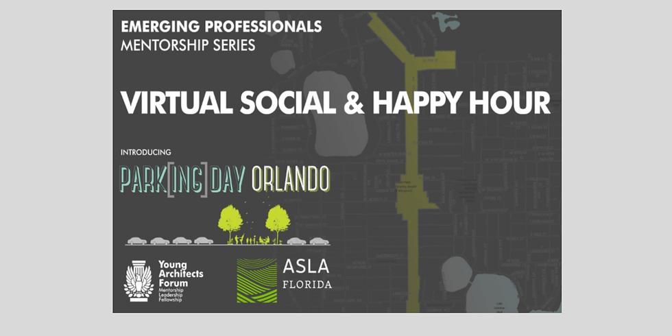 YAF Mentorship Social/Virtual Happy Hour