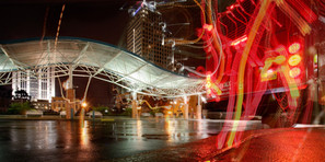 Rainy Night, Orlando Lynx Central Station