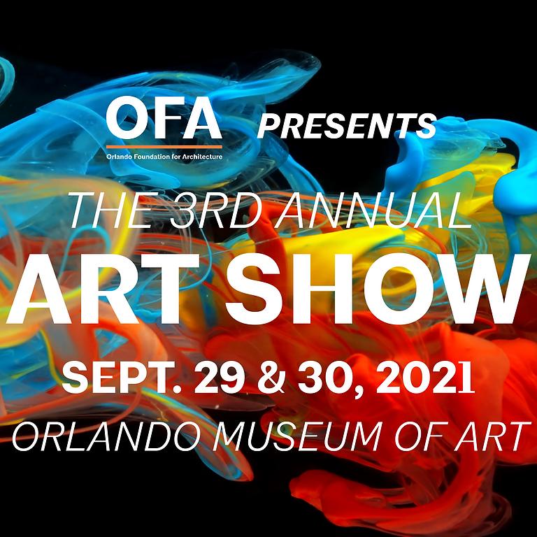 3rd Annual OFA Art Show & Evening Reception Tickets