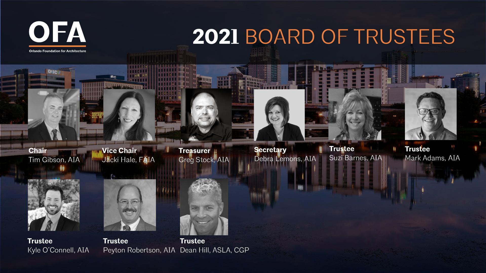 2021 OFA Board