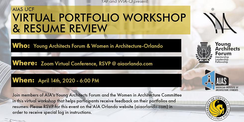 Virtual Portfolio Workshop & Resume Review