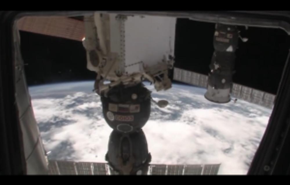 soyuz craft from ISS