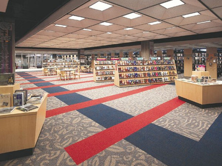 10 Years Ago, Orlando Public Library Interiors