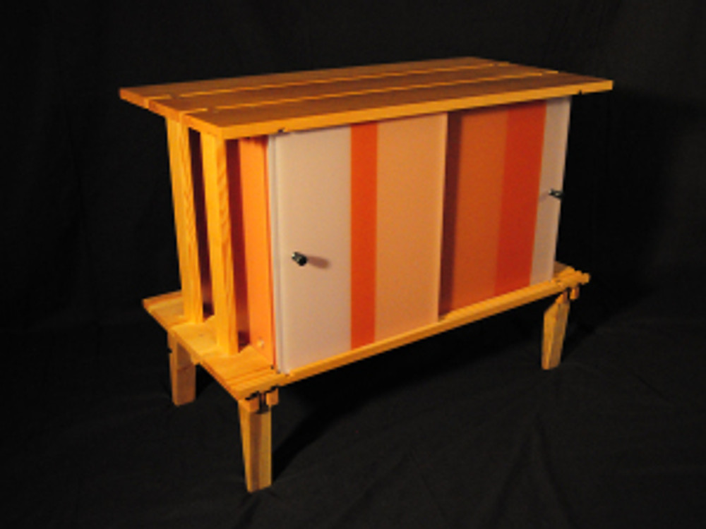 hoffmann- citrus crate for AIA art show