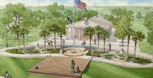 lone sailor navy memorial at blue jacket park