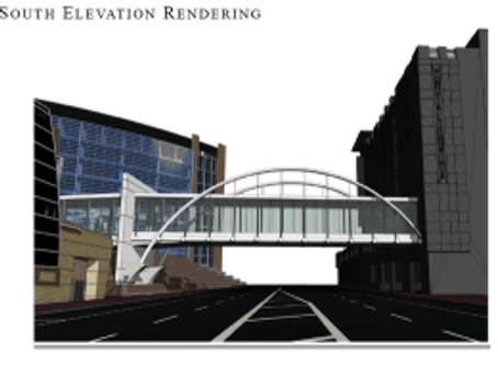 Hotel Planned with Bridge to ORMC