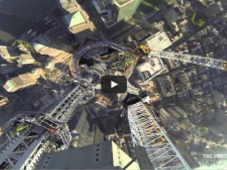 New WTC Spire Video