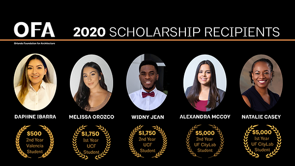 9 OFA Scholarship winners.png