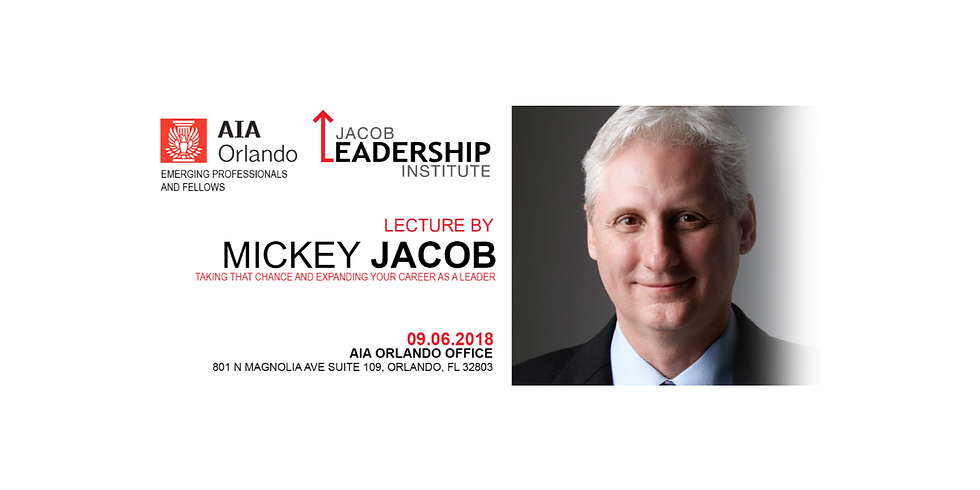 Emerging Professionals & Fellows Featuring Mickey Jacob