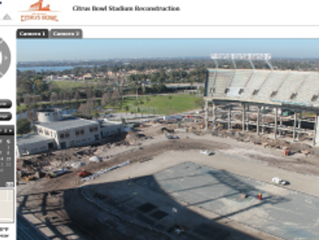 Citrus Bowl Construction Camera