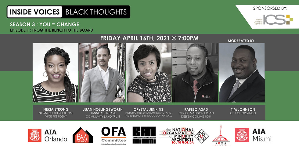 """Inside Voices   Black Thoughts S3 Ep1: """"From the Bench to the Board"""""""