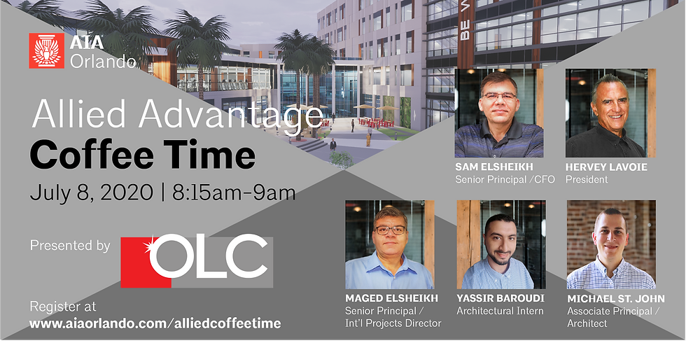 Allied Advantage Coffee Time featuring OLC
