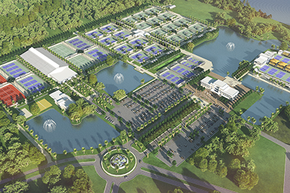 US Tennis Assoc. builds in Lake Nona