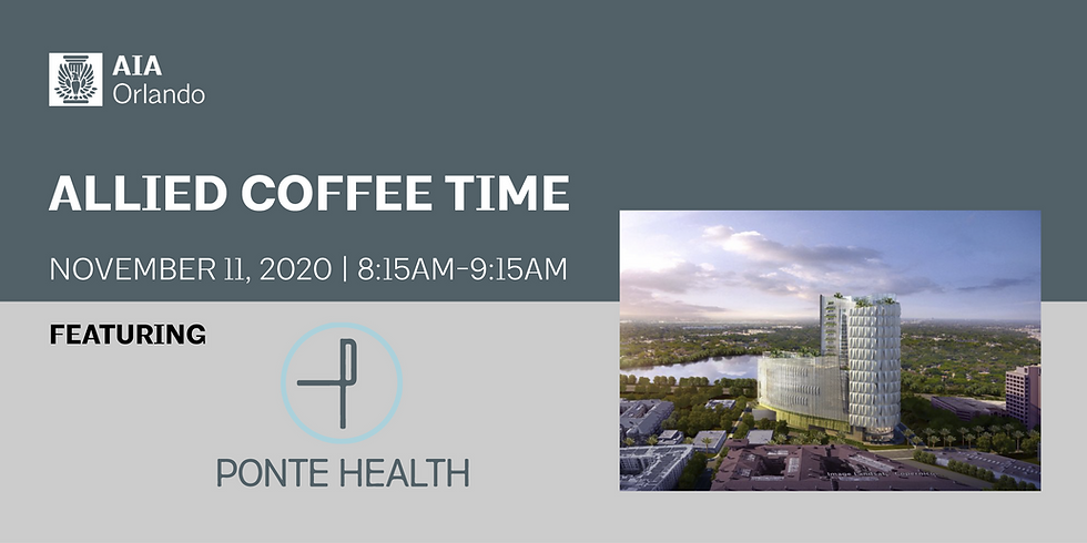 Allied Advantage Coffee Time featuring Ponte Health